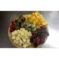 Platter of Cheese Crudite